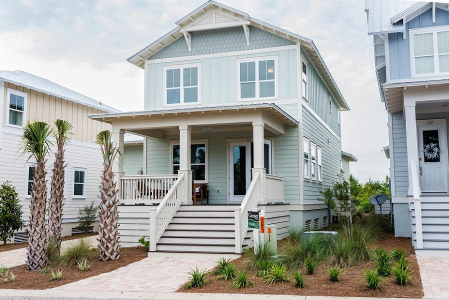 Destin 30a real estate news blog featuring watercolor for 30a home builders